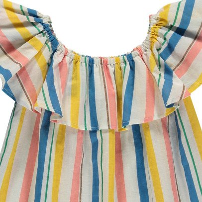 Le Petit Lucas du Tertre Violette Striped Sun Dress-listing