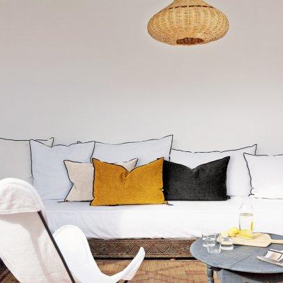 Coussin vice versa lin lav froiss argile givr terracotta - Maison de vacances coussins ...