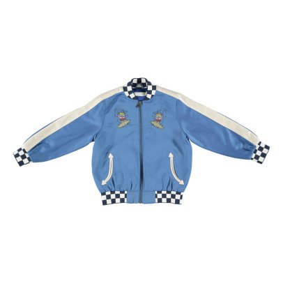 Stella McCartney Kids Teddy Bicolore Brodé Dos Eastwood-listing