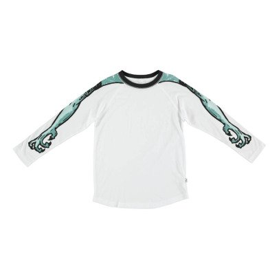 Stella McCartney Kids Max Monster Arm Organic Cotton T-Shirt-listing