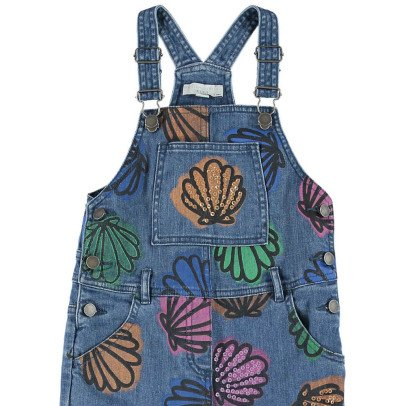 Stella McCartney Kids Rudy Sequin Shell Dungarees-listing