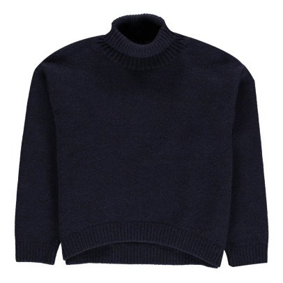 EAST END HIGHLANDERS Oversized Round Neck Jumper-listing