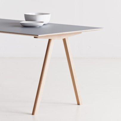 bureau 3 tiroirs naturel h bsch design adulte. Black Bedroom Furniture Sets. Home Design Ideas