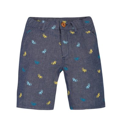 Paul Smith Junior Rosario All Over Embroidered Bicycle Shorts-product
