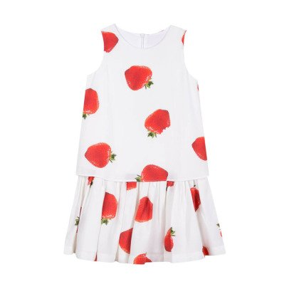 Paul Smith Junior Rejane Strawberry Dress-listing