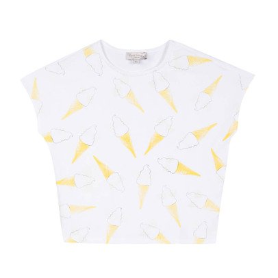 Paul Smith Junior Reflektierendes T-Shirt Ice Cream Riku-listing