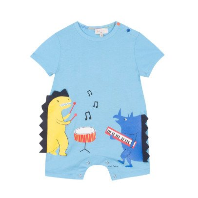 Paul Smith Junior Combishort Dinosaures Musiciens Ray-listing