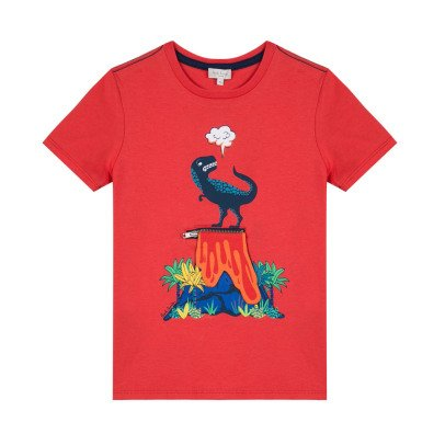 Paul Smith Junior T-Shirt Dinosaurier Rimini -listing