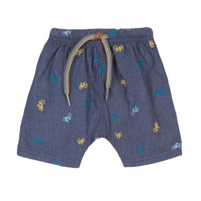 Paul Smith Junior Short Cyclistes Brodés Rene-product