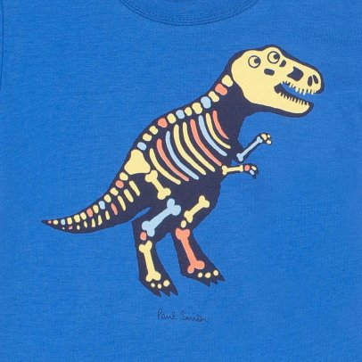 Paul Smith Junior T-shirt Dinosaure Réfléchissant Roma-product