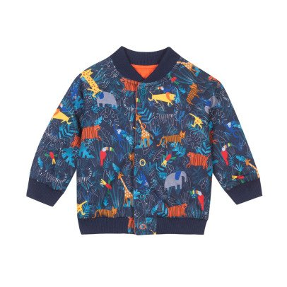 Paul Smith Junior Zweiseitige Bomber-Jacke Jungle Ritter -listing