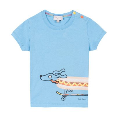 Paul Smith Junior T-Shirt Hot Dog Raymond-listing