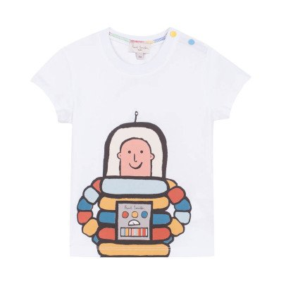 Paul Smith Junior T-Shirt Kosmonaut Rodrigue -listing