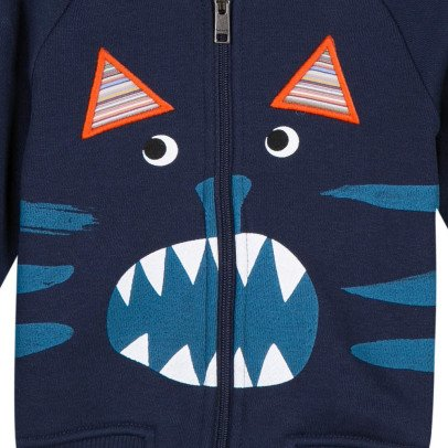 Paul Smith Junior Sweatshirt mit Kapuze Katze Rupert -listing