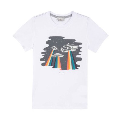 Paul Smith Junior Remo Flying Saucer T-Shirt-listing