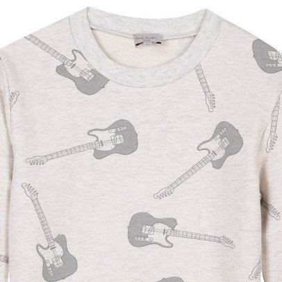 Paul Smith Junior Rhythm All Over Guitar Sweatshirt-listing