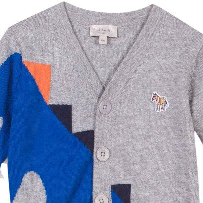Paul Smith Junior Rowan Dinosaur Cardigan-listing
