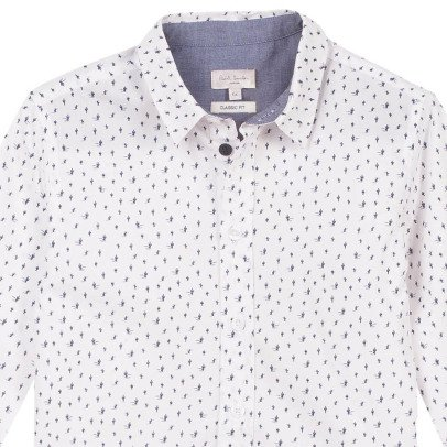 Paul Smith Junior Ridge All Over Cactus Shirt-product