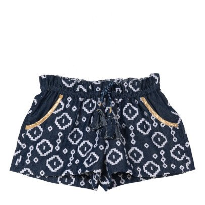 Velveteen Short Brodé Brooke-product
