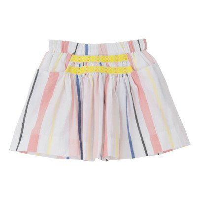 Velveteen Sara Striped Skirt-listing