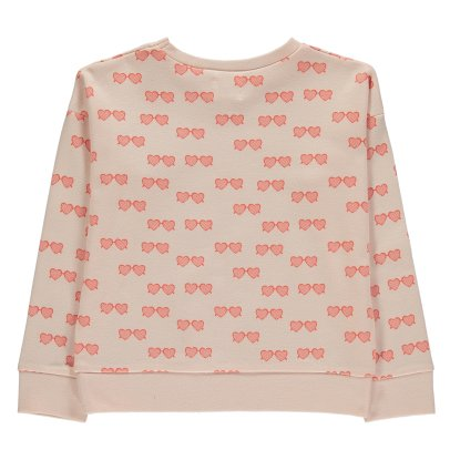 Blune Kids Lolita Heart Glasses Sweatshirt-listing