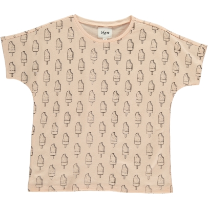 Blune Kids T-shirt Motif Glaces Ice Lolly-listing