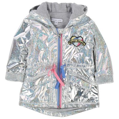 Little Marc Jacobs Impermeable Capucha Holograma-listing