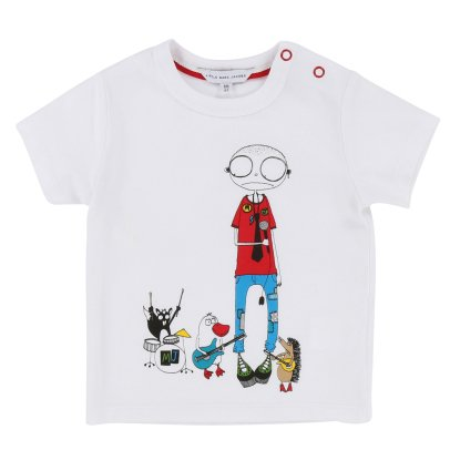 Little Marc Jacobs Mister Marc T-Shirt-listing