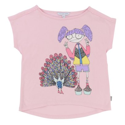 Little Marc Jacobs Miss Marc Peacock T-Shirt-listing