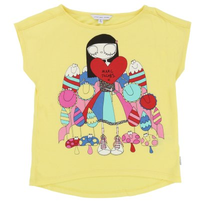 Little Marc Jacobs T-shirt cuore Miss Marc -listing