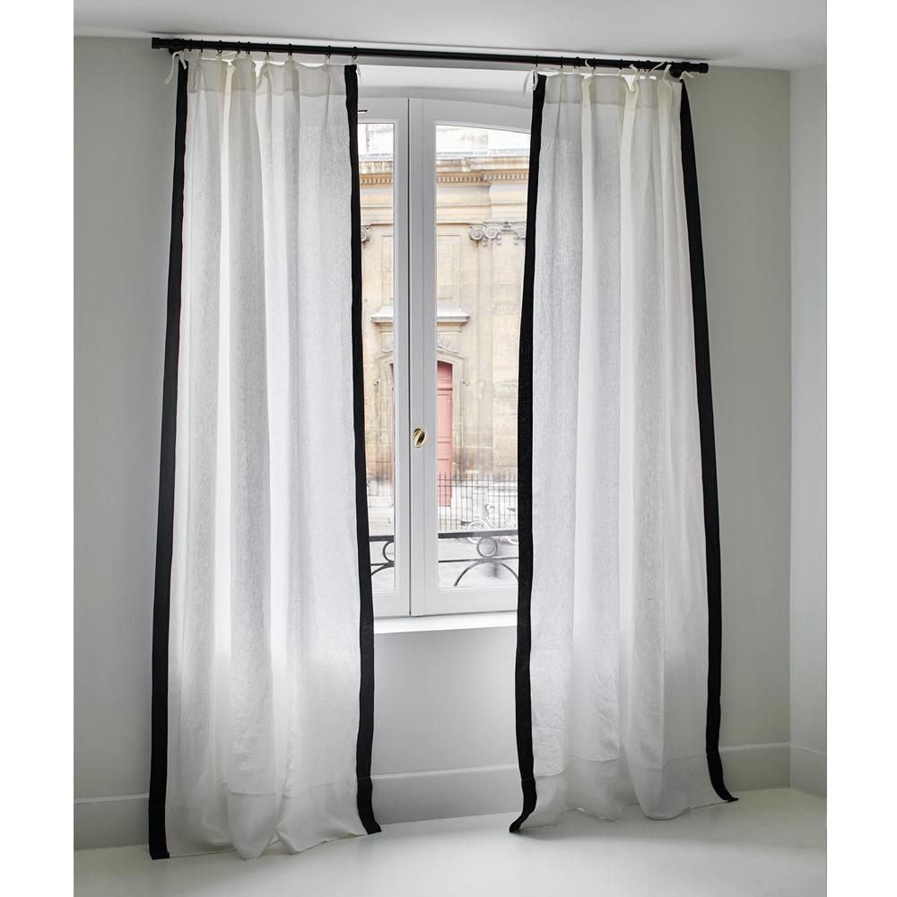 cortina ava de lino 100x300 cm product - Cortinas Lino
