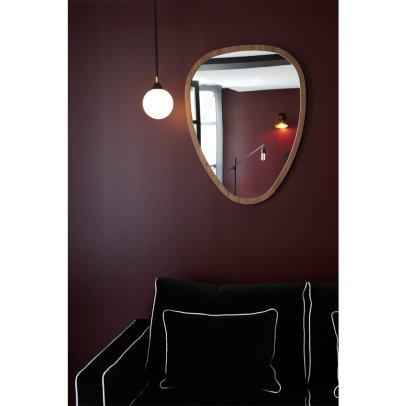 Miroir rond en m tal dor smallable home design adulte for Sarah riani miroir miroir