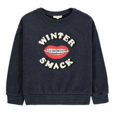product-Hundred Pieces Winter Smack Sweatshirt