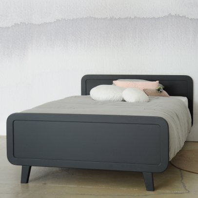 hausbett aus buche natur bonnesoeurs design kind. Black Bedroom Furniture Sets. Home Design Ideas
