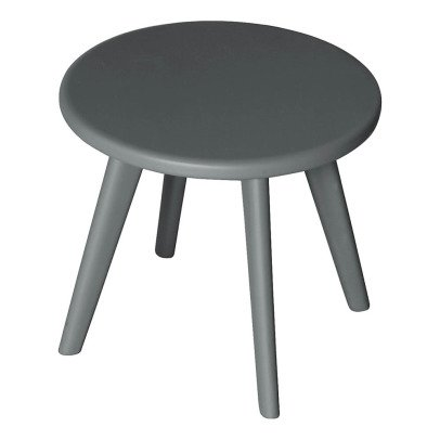 Laurette Haricot Stool - Dark Grey-listing