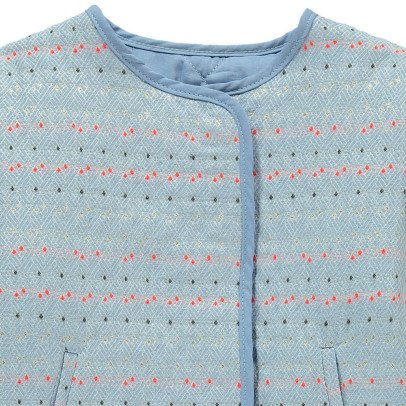 Hundred Pieces Jacquard Jacket-listing