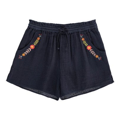 Hundred Pieces Bohemian Flower Shorts-listing