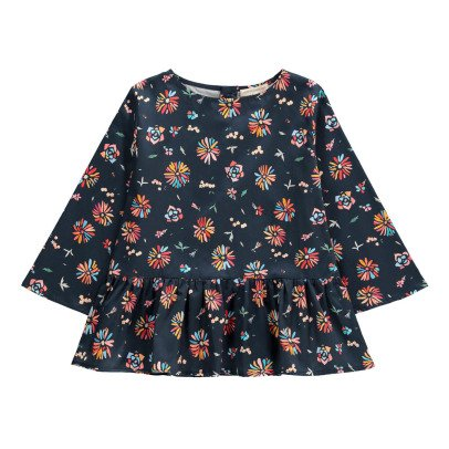 Hundred Pieces Flower Long Sleeve Blouse-listing