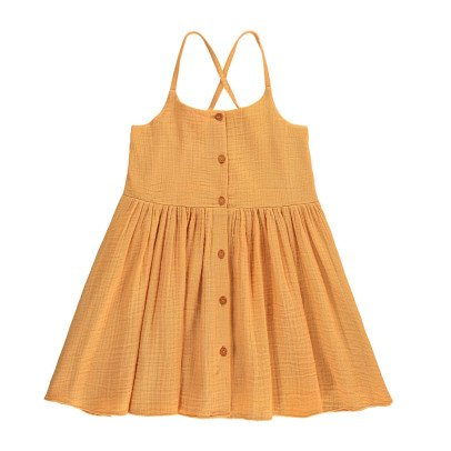 Hundred Pieces Cotton Gauze Dress-listing
