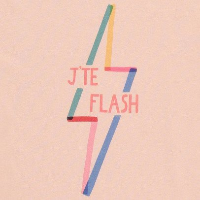 Hundred Pieces Camiseta  J'te Flash-listing