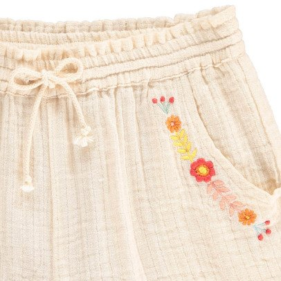 Hundred Pieces Shorts Flowers -listing
