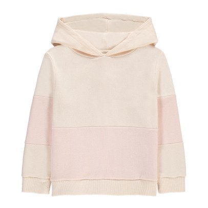 Hundred Pieces Sweatshirt mit Kapuze Two-Tone-listing