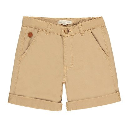 Hundred Pieces Twill Bermuda Shorts-listing