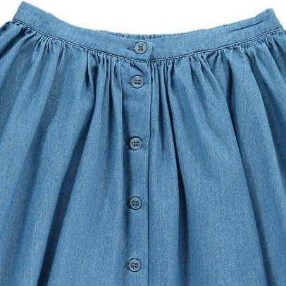 Hundred Pieces Chambray Skirt-listing