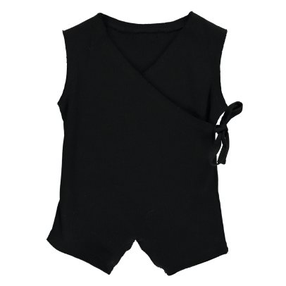 Little Creative Factory Ribbed Wrap Playsuit-listing