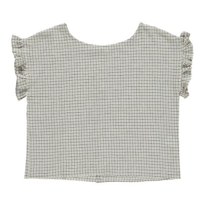 Emile et Ida Ruffled Check Blouse - Women's Collection-listing