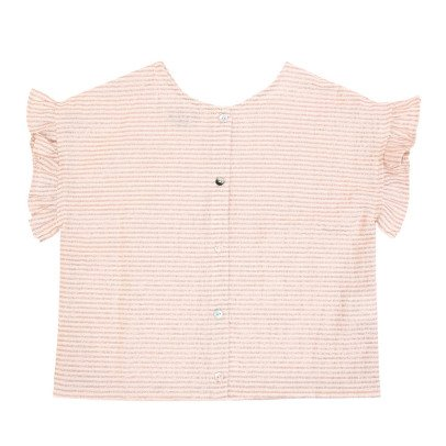 Emile et Ida Lurex Striped Blouse-listing