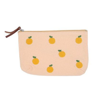 Emile et Ida Fruit Embroidered Pouch-listing