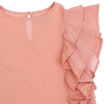 Emile et Ida Ruffled Crepon Blouse-product