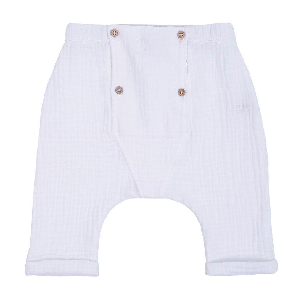 Pantalon Sarouel En Coton Double Visage Et Ida Emile blseNIoE7X